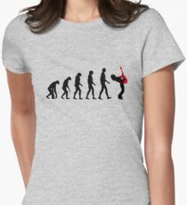 Rock Evolution Womens Fitted T-Shirt