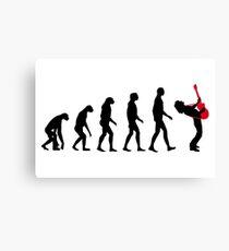 Rock Evolution Canvas Print