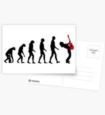 Rock Evolution Postcards