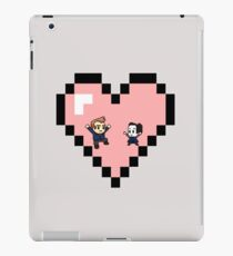 """""""Love in 8-bit"""": Jeff and Annie (Style D) iPad Case/Skin"""