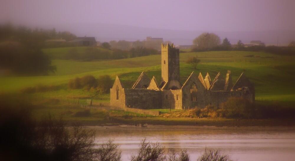 Rosserk Abbey Co Mayo by carlinecasey