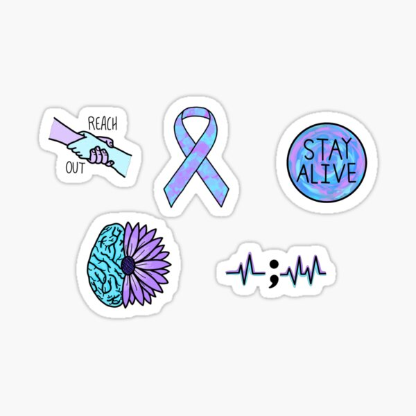 Mental Health pack  Sticker