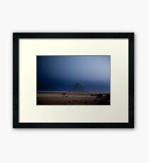 Canon Beach Framed Print