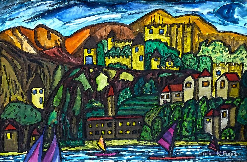 Castle Land by Monica Engeler
