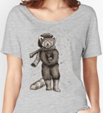 Pumpkin the Red Panda Women's Relaxed Fit T-Shirt