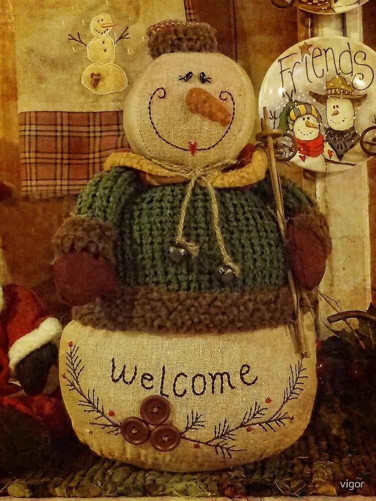 Welcome Christmas by vigor