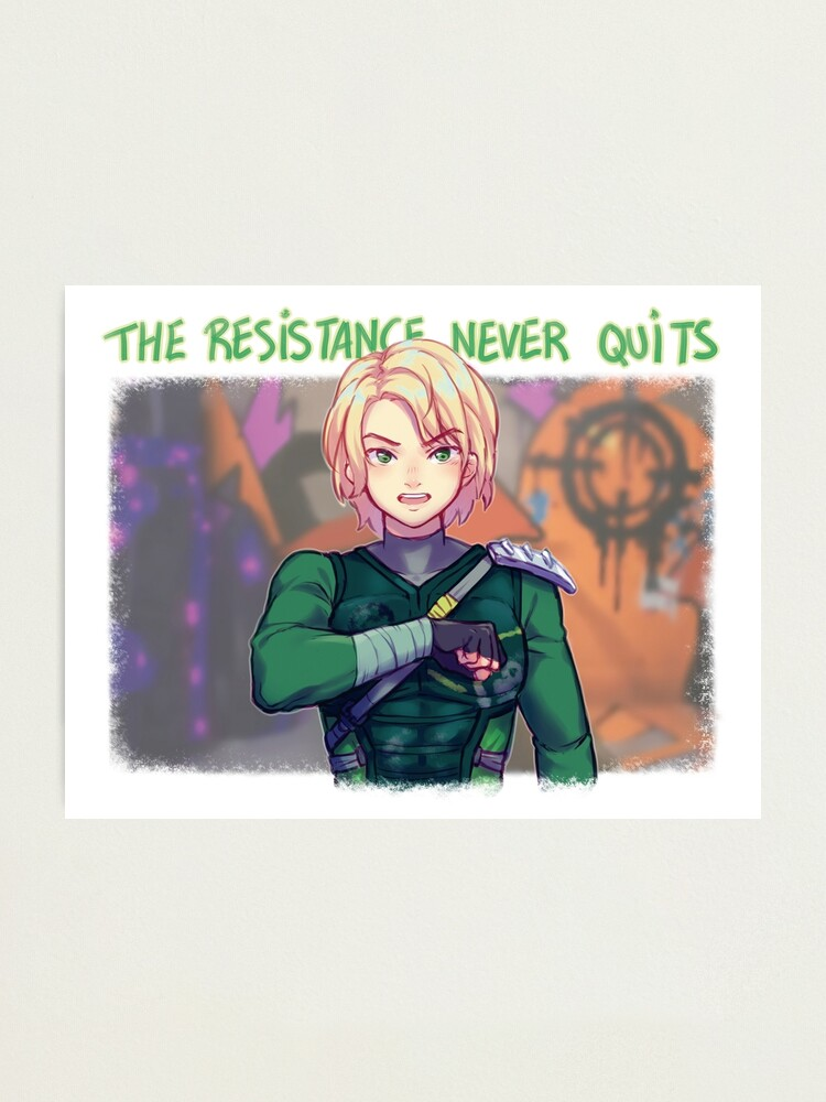 Alternate view of The Resistance Never Quits Photographic Print