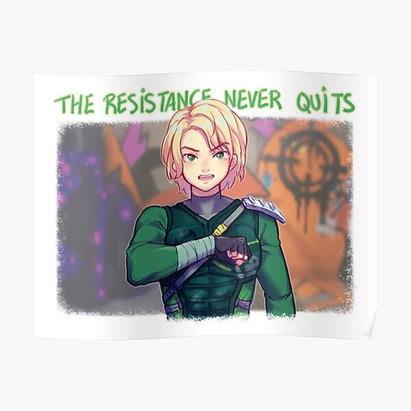 The Resistance Never Quits Poster