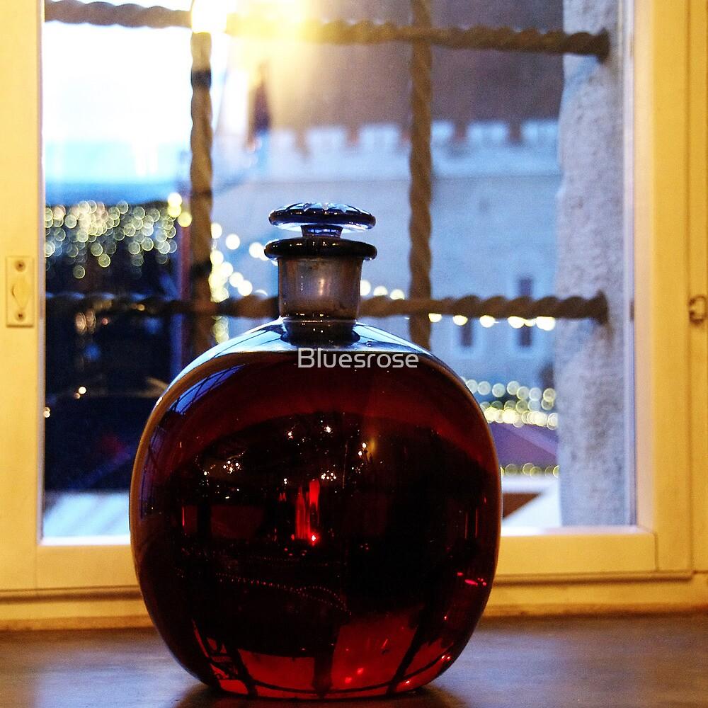 Red bottleball by Bluesrose