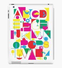 Graphic Alphabet iPad Case/Skin
