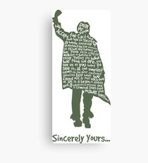The Breakfast Club - Sincerely Yours Canvas Print