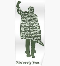 The Breakfast Club - Sincerely Yours Poster
