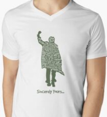 The Breakfast Club - Sincerely Yours Men's V-Neck T-Shirt