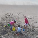 Playing in the Sand - Jugando en el Arena by PtoVallartaMex