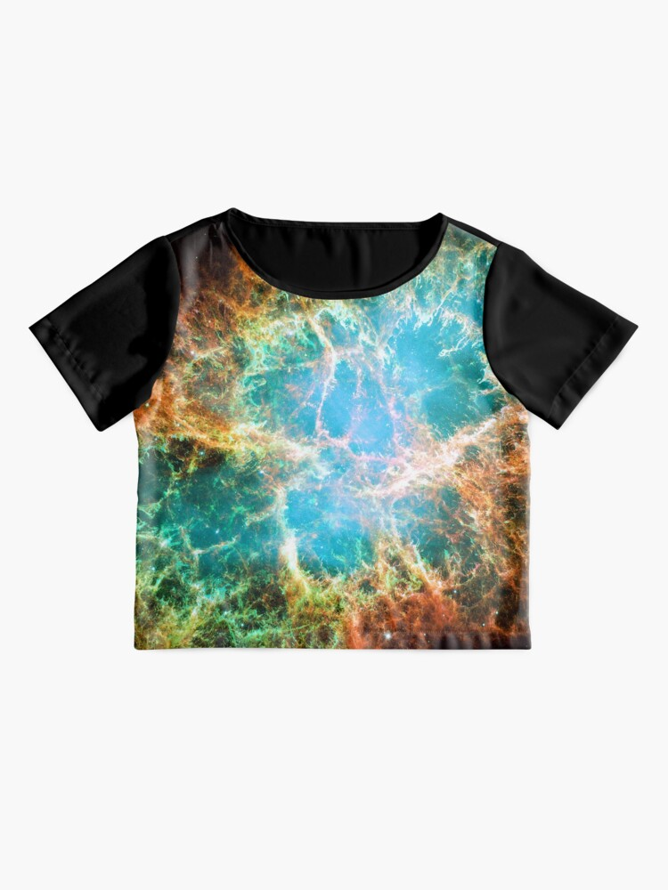 Alternate view of The Crab Nebula. Nasa Hubble Space Telescope Image. Isn't Astronomy Wonderful! Chiffon Top