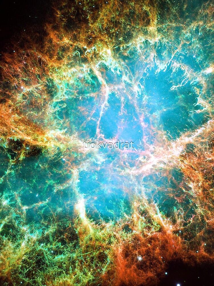 The Crab Nebula. Nasa Hubble Space Telescope Image. Isn't Astronomy Wonderful! by tiokvadrat
