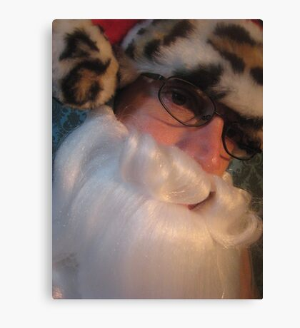 Mr Santa Canvas Print