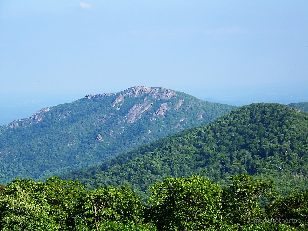 Old Rag Mountain by James Brotherton