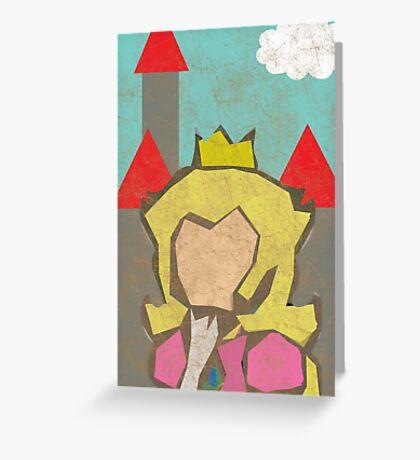 Minimal Peach Greeting Card