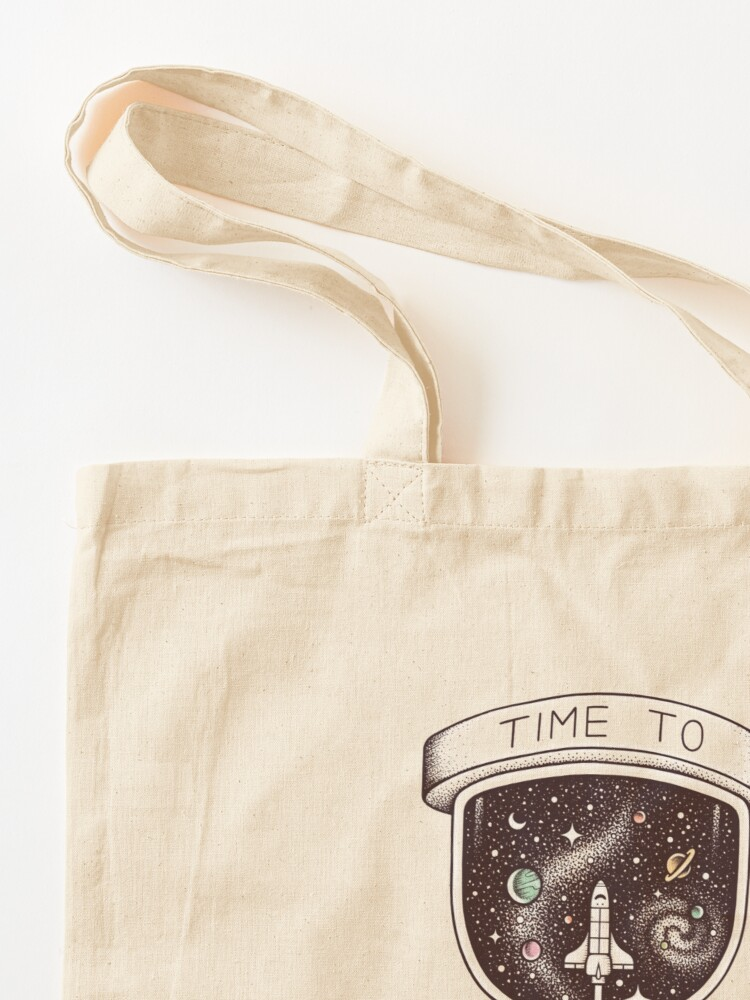 Alternate view of Time to Explore Tote Bag