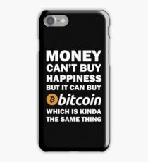 Bitcoin Happy Money iPhone Case/Skin
