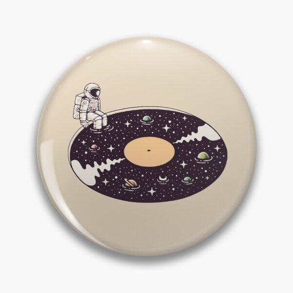 Cosmic Sound Pin