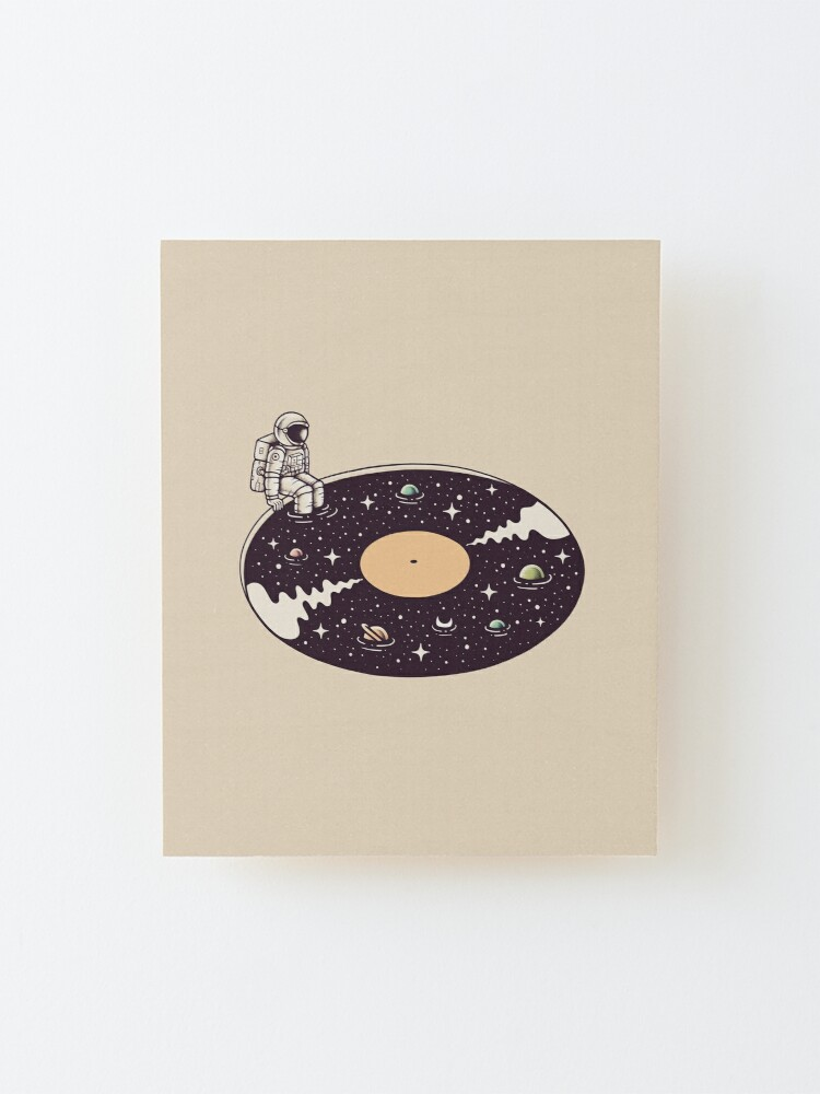 Alternate view of Cosmic Sound Mounted Print