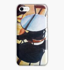 Chairs and shadows iPhone Case/Skin
