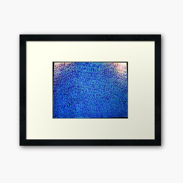 Just Like Heaven Framed Art Print