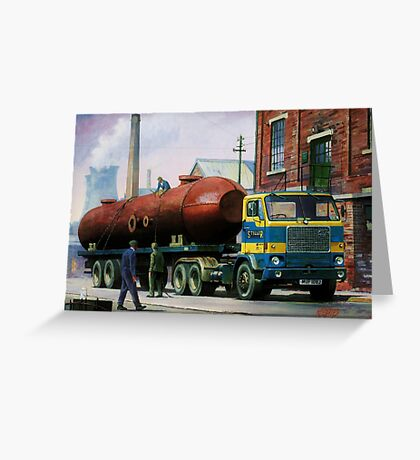 Volvo artic. Greeting Card