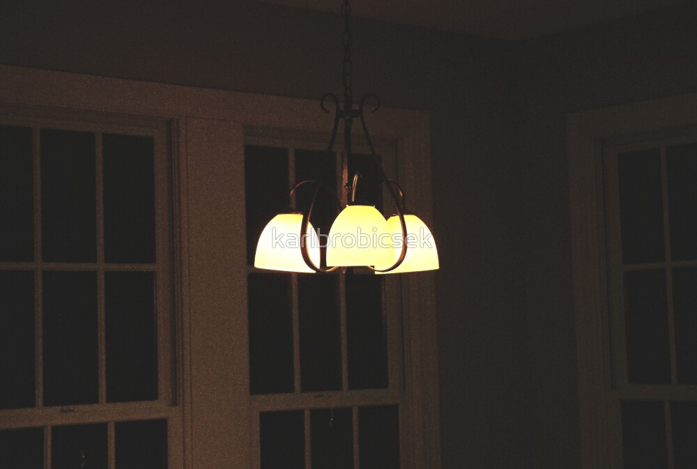 The Night Light in the Kitchen by karlbrobicsek
