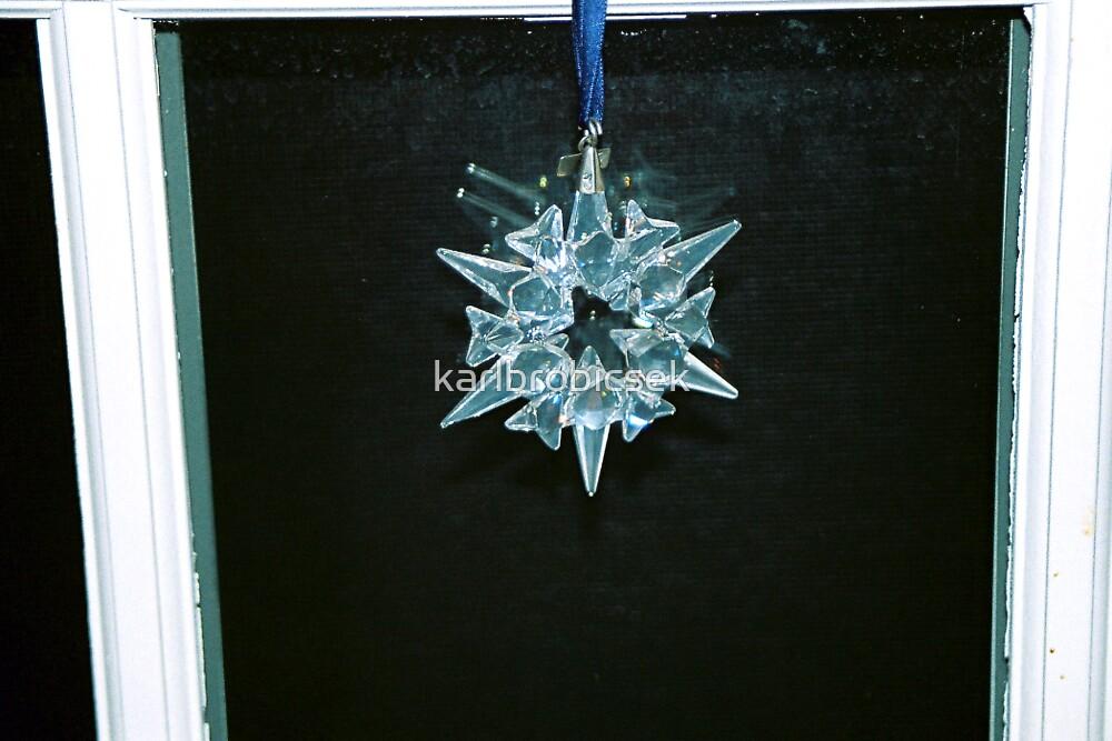 Crystal Snow Flake by karlbrobicsek