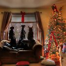 Watching for Santa by Lori Deiter