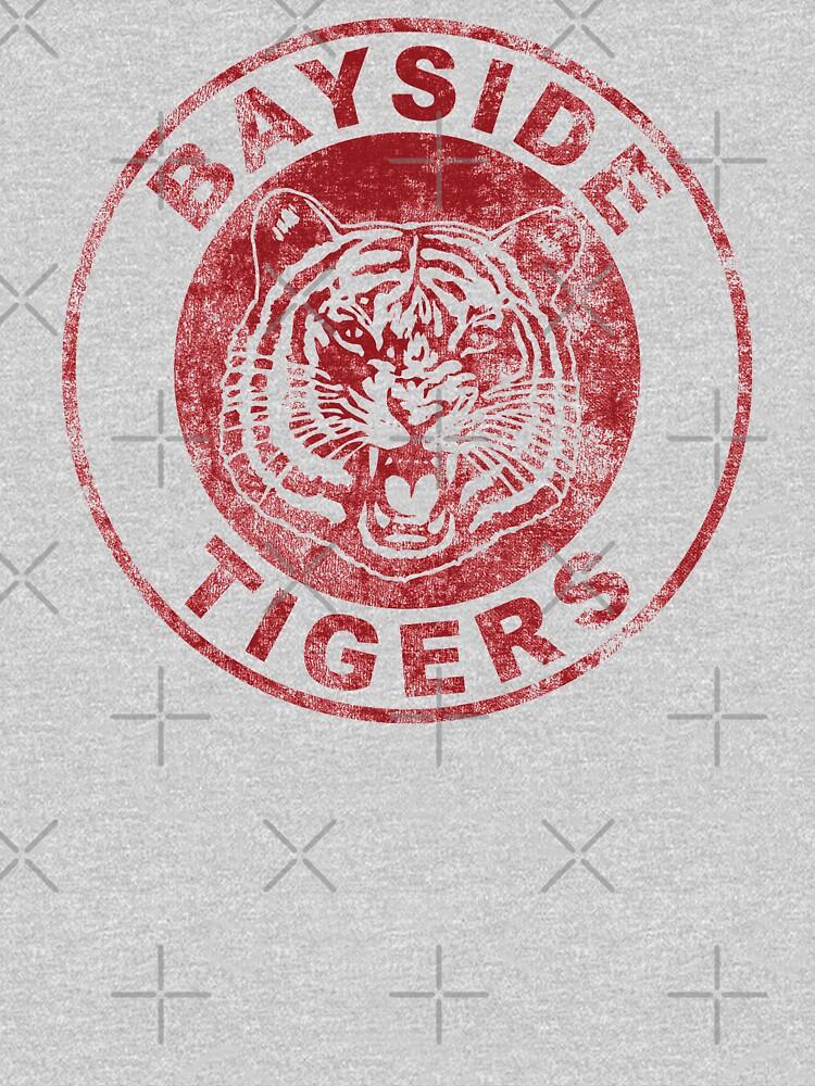 Bayside (Distressed) Tigers by fandemonium