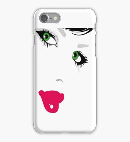 GREEN EYES. iPhone Case/Skin