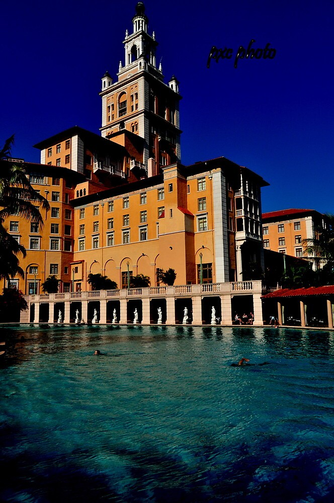 The Biltmore Hotel and Pool by pxcphotos