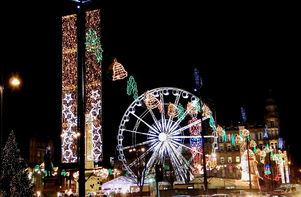 Christmas at George Square, Glasgow by ElsT