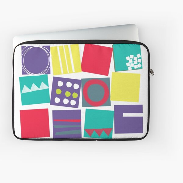 Abstract Squares Laptop Sleeve