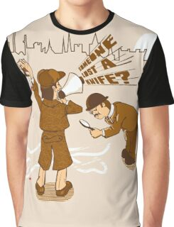 Worst detective EVER! Graphic T-Shirt