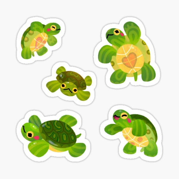 Red-eared slider - Dark Sticker