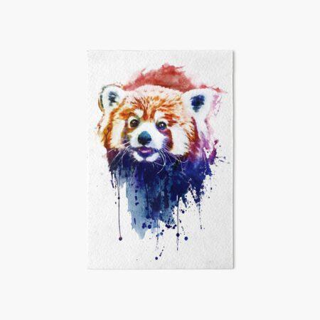A Cute Red Panda Art Board Print