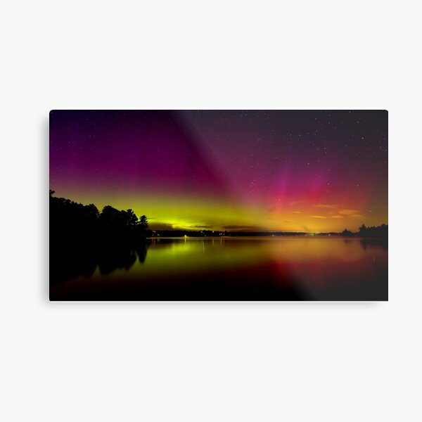 Northern Lights in Canada Metal Print