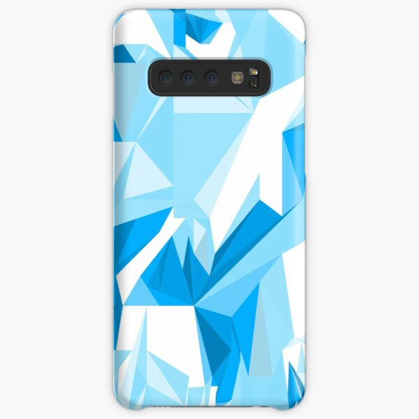 Net of turquoise triangles Samsung Galaxy Snap Case