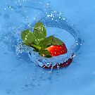 Strawberry Splash by James Millward