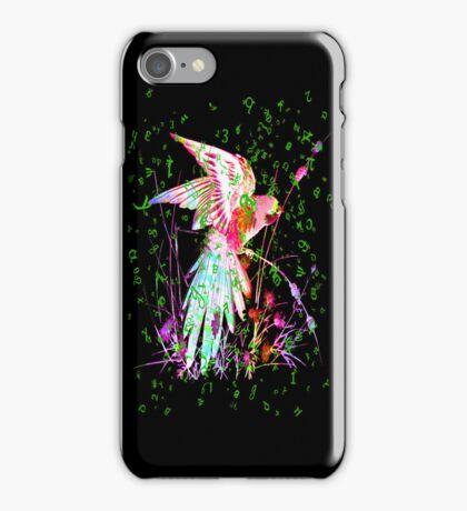 COLOURS PARROT. iPhone Case/Skin