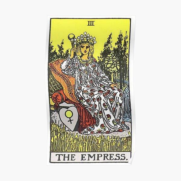 The Empress Tarot Poster