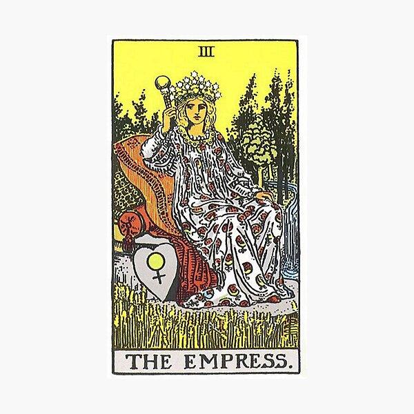 The Empress Tarot Photographic Print