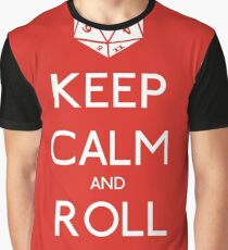 Keep Calm and Roll Initiative Graphic T-Shirt