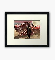 Sci Fi Showdown Framed Print