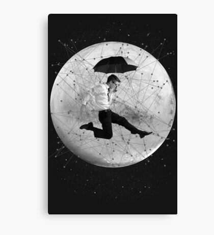 Black and White Collection -- Men Are From Mars Canvas Print